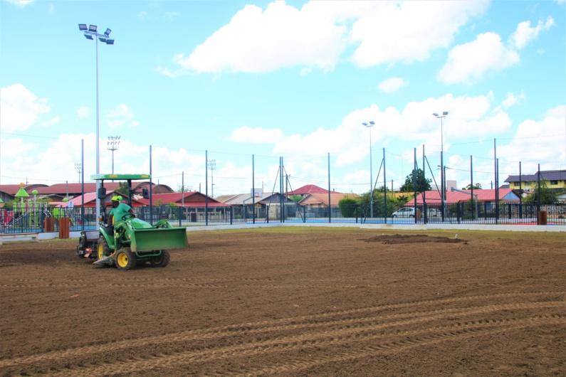 #travaux : Le terrain de football des Cultures fermé jusqu'au 2 février