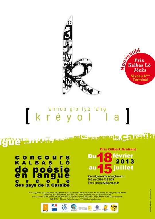 4ème concours de poésie en langue créole de la Caraïbe