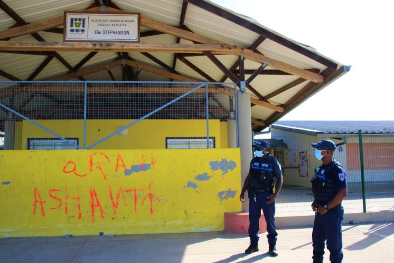 #Citoyenneté : Acte de vandalisme à l'école Elie Stephenson