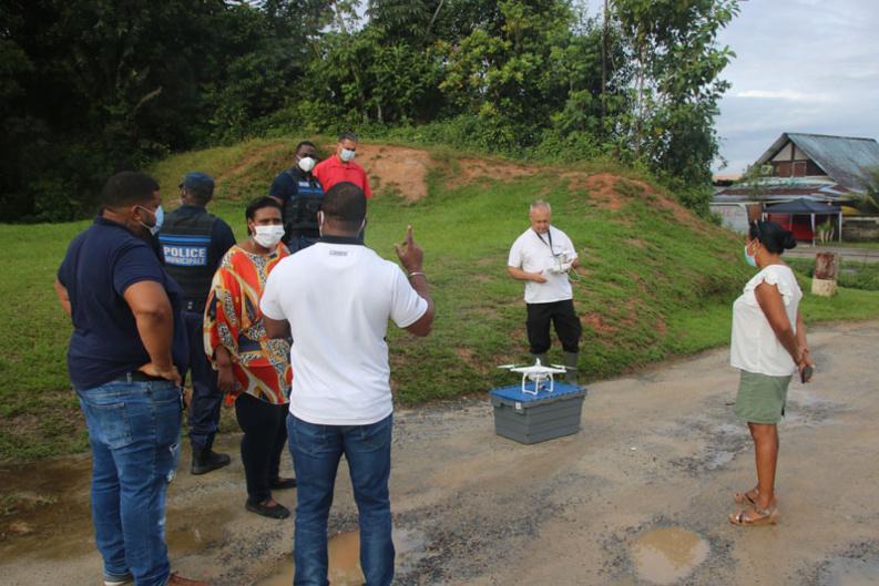 #Cartographie : Première étape de repérage pour le quartier informel Bagda