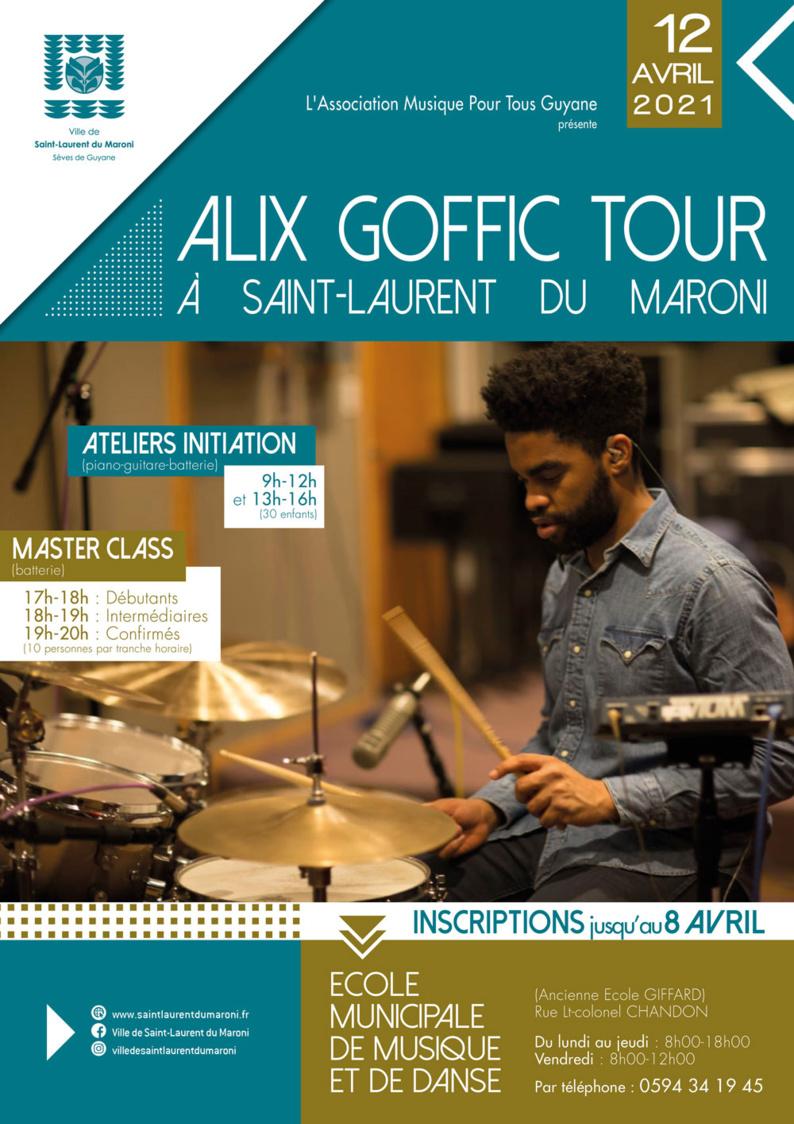 #Musique : Inscrivez-vous au Master Class d'Alix Goffic