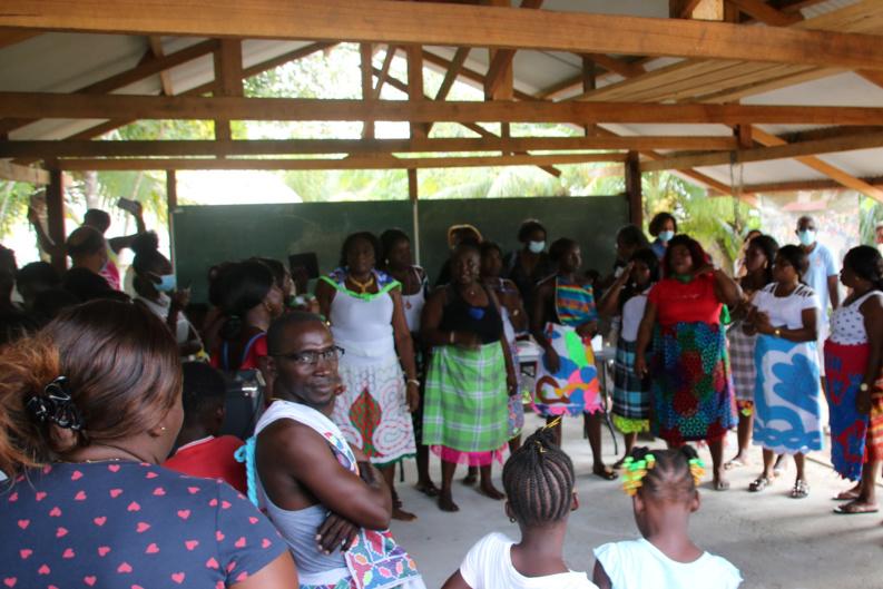 #Culture : Une belle cérémonie de clôture pour l'exposition Chekepatty à Saint-Laurent du Maroni