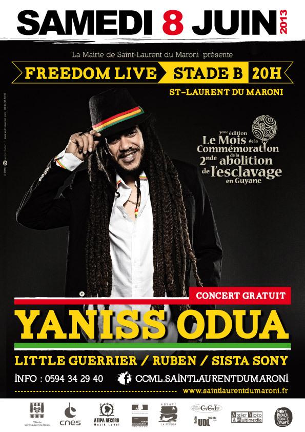 Freedom Live avec Yaniss Odua pour le Mois de la Commémoration
