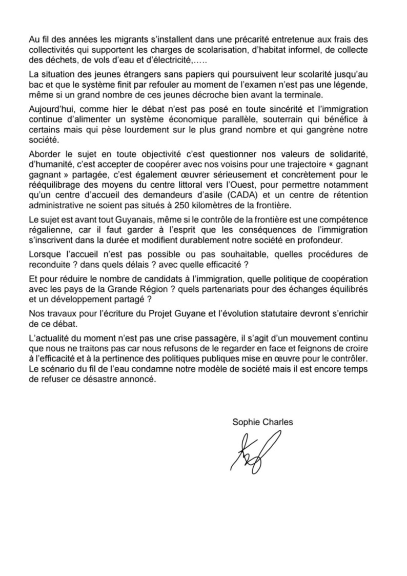 #Conférencedepresse : Lettre ouverte