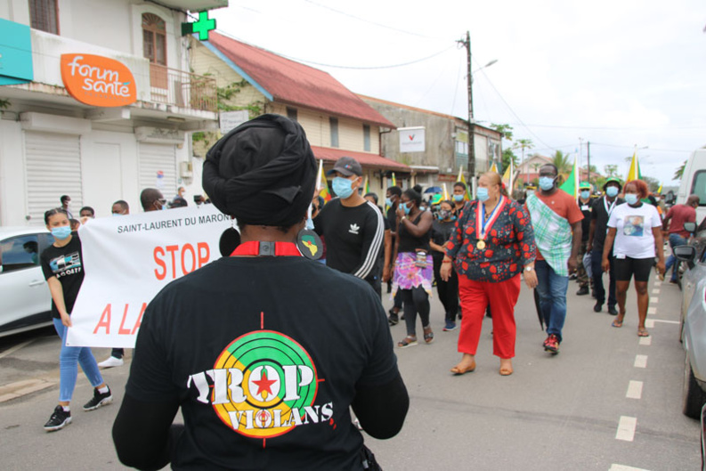 #Mobilisation: Marche de soutien aux victimes de violence