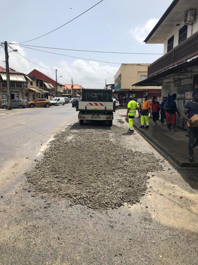 #Travaux : Les services techniques de la ville multiplient les interventions