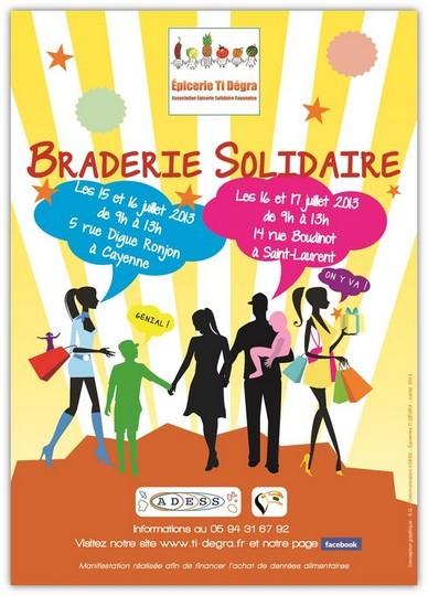 L'épicetie Ti Dégra organise sa braderie solidaire les 16 et 17 juillet