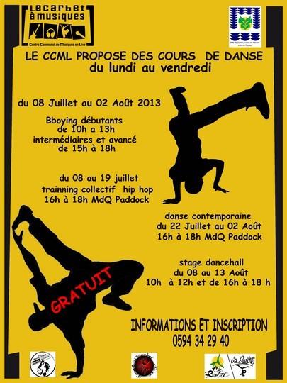 Le CCML propose des cours de danse durant les vacances