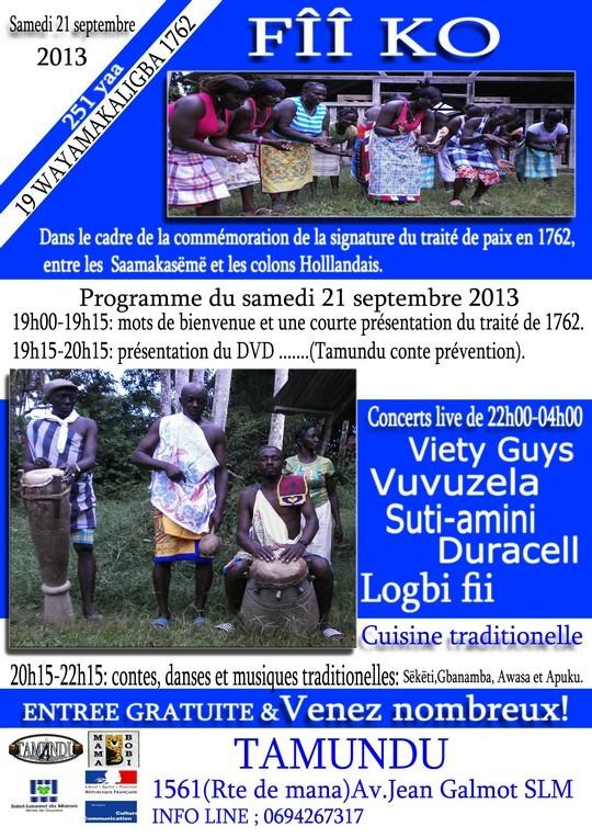 FÎÎ Ko organisé par l'association Tamundu