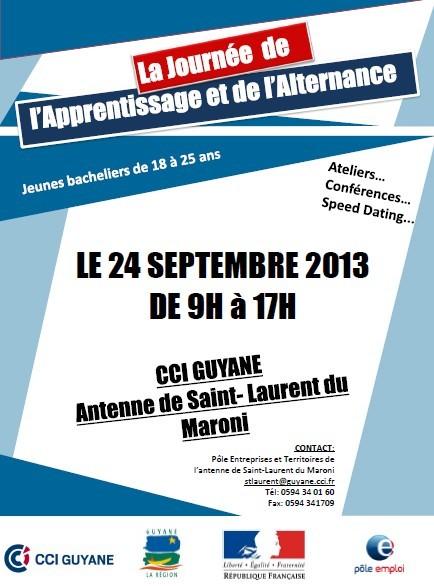La journée de l'apprentissage et de l'alternance organisée par la CCIG