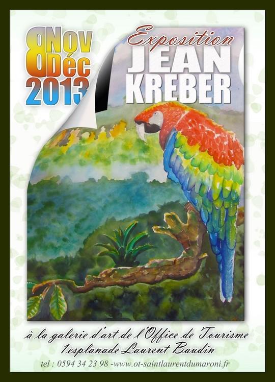 Exposition de Jean Kreber du 08 novembre au 08 décembre