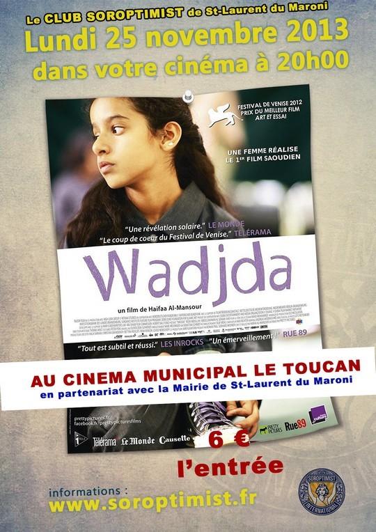 Projection du film Wadjda proposée par le Club Soroptimist de St-Laurent