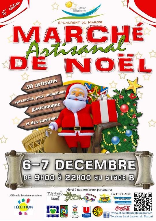 10ème Marché artisanal de Noël de l'Office de Tourisme