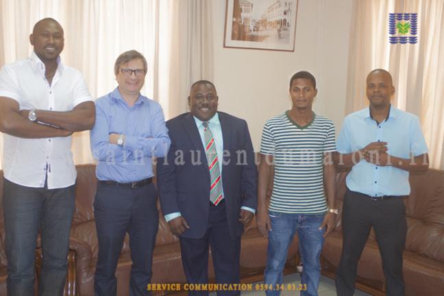 Une délégation de la collectivité s'est rendue au Suriname