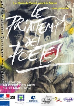16ème édition du Printemps des poètes à la Bibliothèque Icek Baron