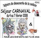Camp carnaval et Land Art