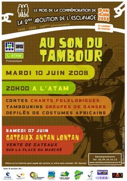 Au son du Tambour avec l'Association de Tous les Ages du Maroni