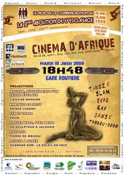 Krakémanto fait son Cinéma d'Afrique