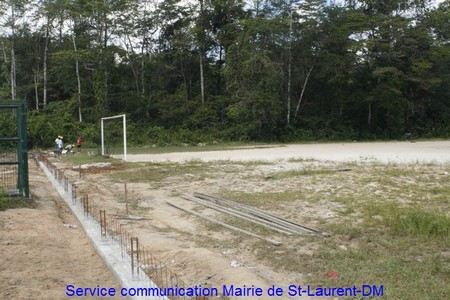 Rénovation du Stade de football de Paddock et Charbonnière