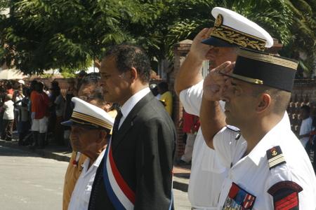 Le traditionnel défilé du 14 juillet à Saint-Laurent-du-Maroni