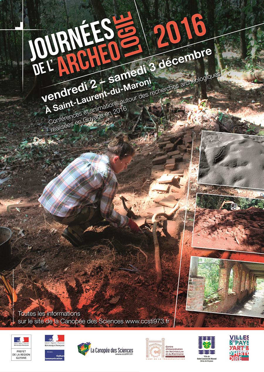 Journées régionales de l'archéologie 2016