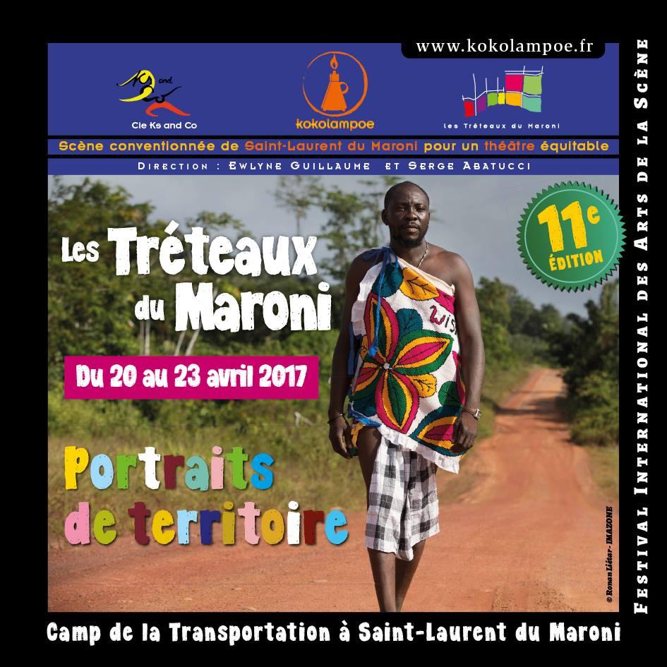 Théâtre : du 20 au 23 avril venez assister au Festival des Tréteaux du Maroni