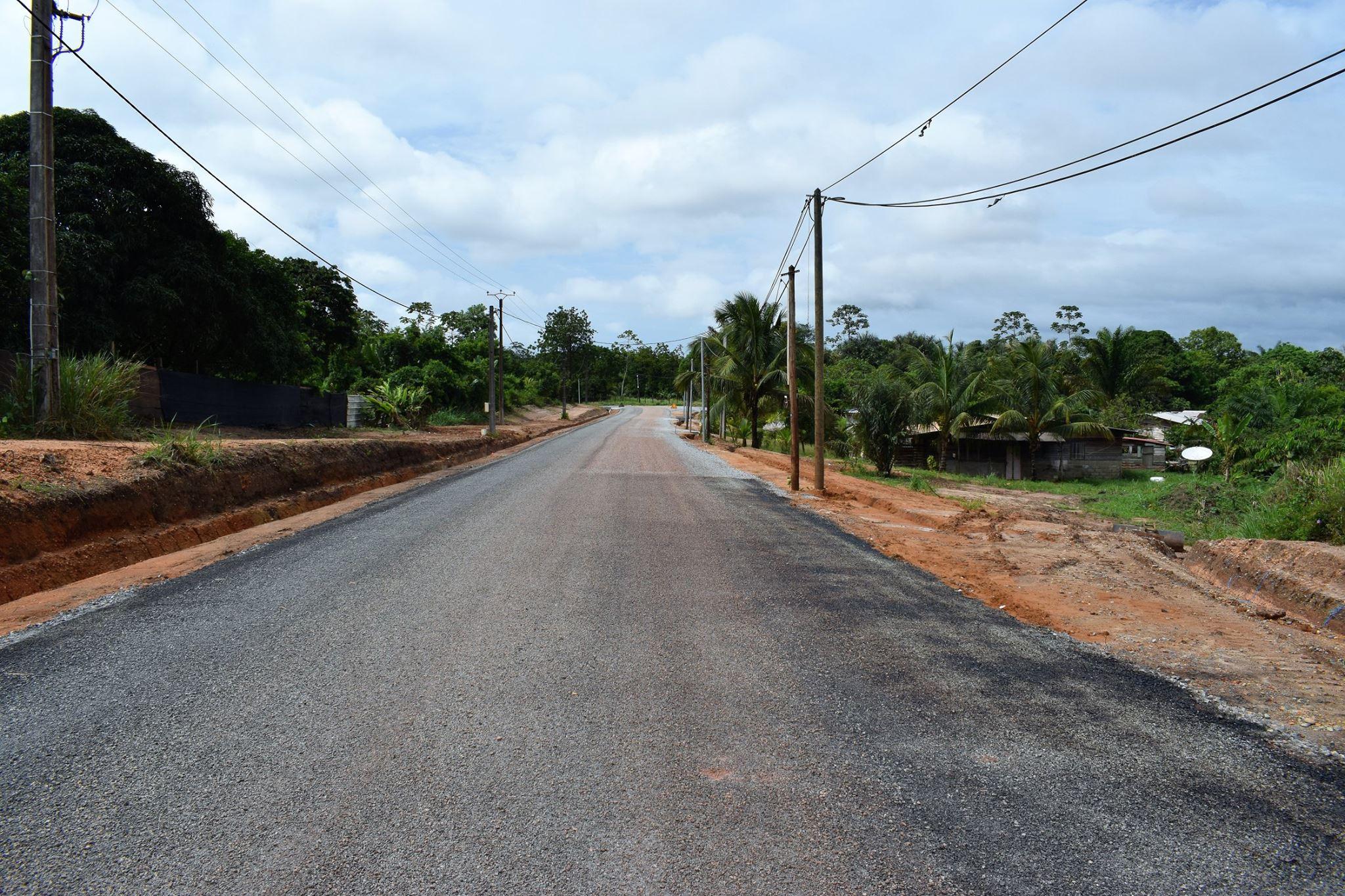 La Ville de Saint-Laurent a investi dans l'amélioration de l'avenue Paul Castaing entre Jakarta et Kamougue
