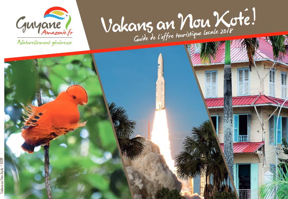 Téléchargez les guides touristiques du CTG - Comité du Tourisme de Guyane