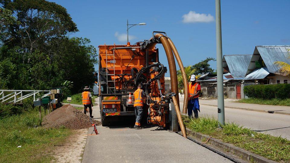Déploiement du réseau fibre optique à Saint-Laurent