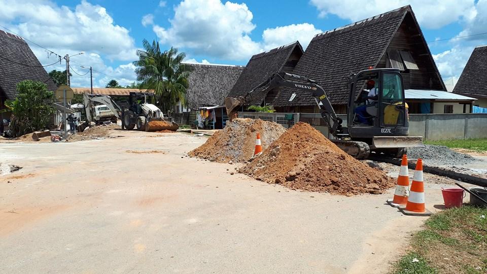 [Amélioration du cadre de vie] : la Ville investit dans des travaux de création de réseaux d'eaux pluviales sur le quartier de la Charbonnière