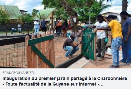 [Faire-ensemble] : le jardin partagé de la Charbonnière : un bel exemple de partenariat entre les habitants et la mairie.