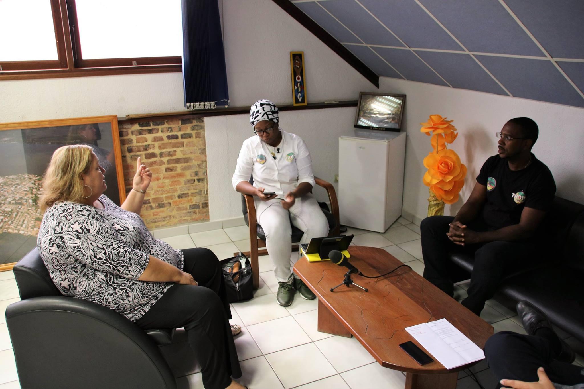 [Prévention] : Madame le maire rencontre les associations Trop Violans et 500 frères autour des questions de prévention