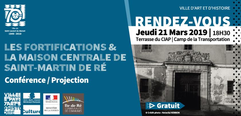 [Conférence] : « Les fortifications et la maison centrale de Saint-Martin de Ré »