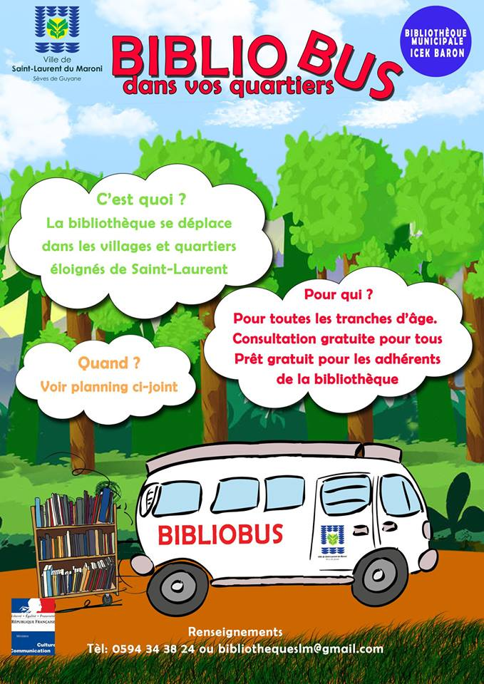 [LECTURE] : interruption temporaire des tournées du bibliobus dans les quartiers
