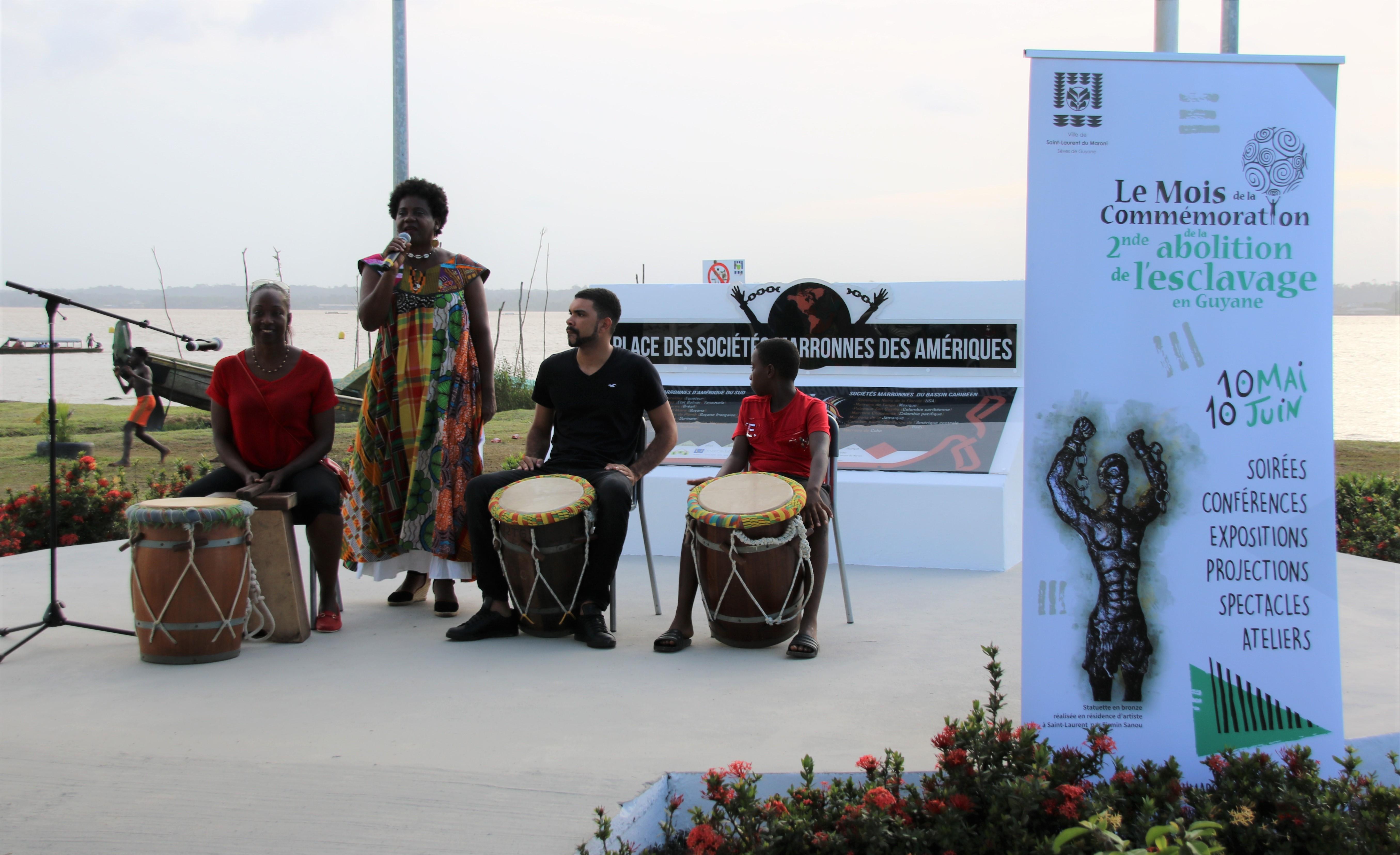 [Mois de la commémoration de l'abolition de l'esclavage] : cérémonie de lancement de la treizième édition