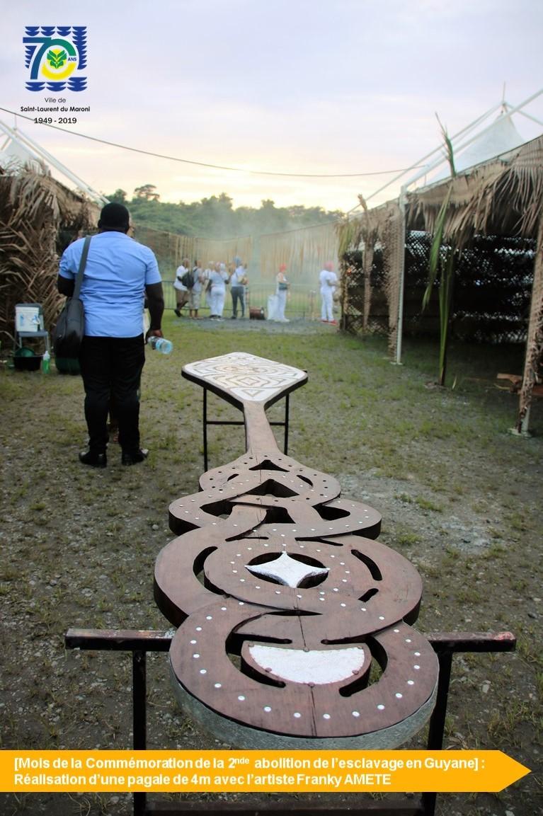 [Mois de la commémoration ] : atelier construction d'une pagaie