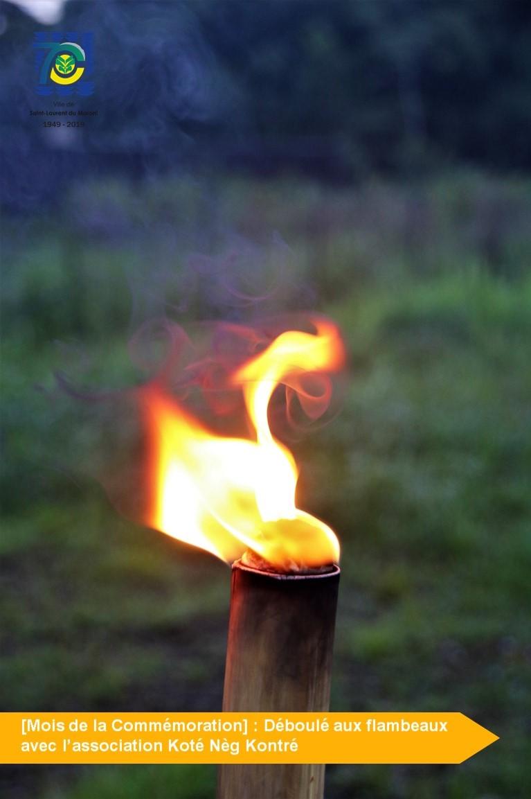 [Mois de la Commémoration] : déboulé aux flambeaux