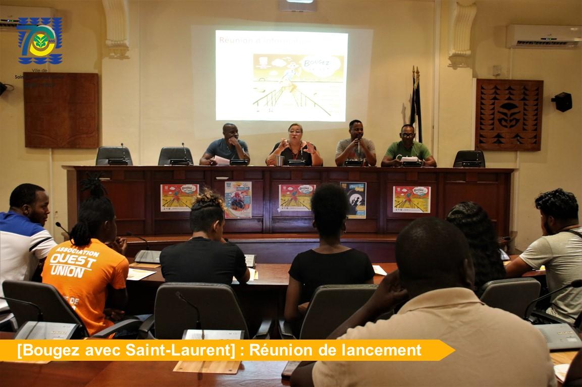 """Lancement de la campagne d'activités et festivités des vacances : """"Bougez avec Saint-Laurent"""""""