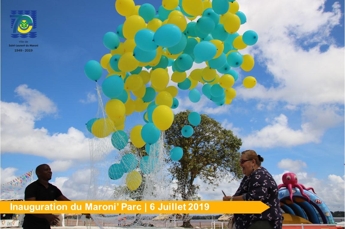 [Bougez avec Saint-Laurent] : Inauguration du Maroni'Parc.