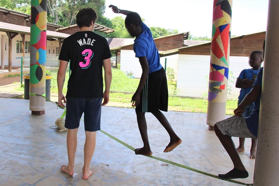 [Bougez avec Saint-Laurent] : retour en images sur les prouesses de nos jeunes acrobates !