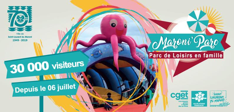 [ Bougez avec Saint-Laurent ] : déjà 30 000 visiteurs au Maroni Parc !