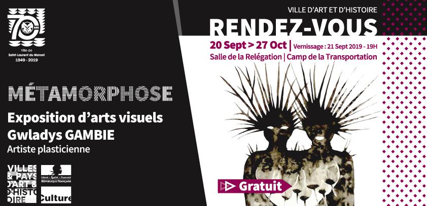"Exposition : ""Métamorphose"" de Gwladys Gambie"