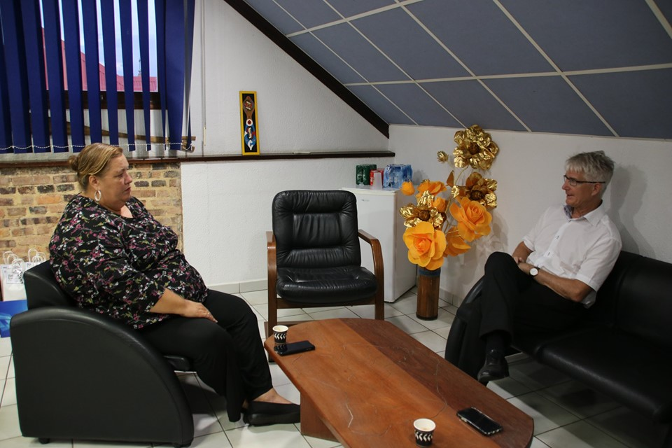 [SANTE] : Madame le maire et Monsieur le directeur du CHOG échangent autour de la situation de l'hôpital