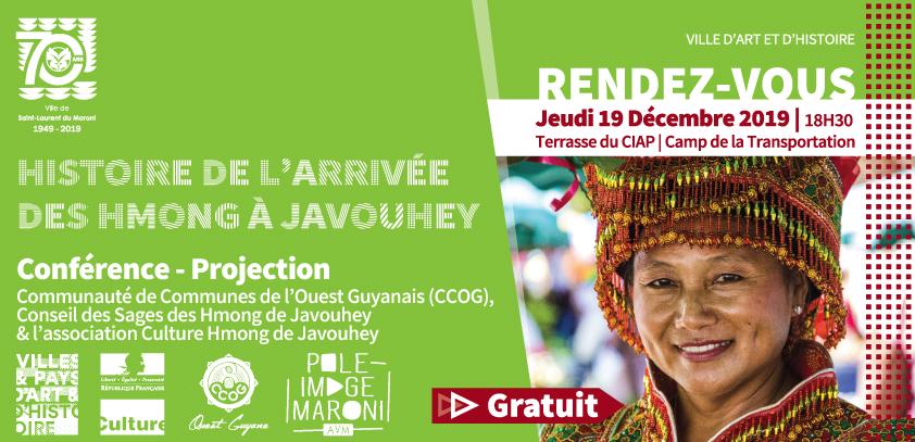 [Jeudis du patrimoine] : Conférence sur « L'histoire de l'arrivée des Hmong à Javouhey » le 19 décembre au camp de la Transportation