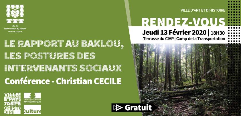 [Jeudis du patrimoine] : Conférence « Le rapport au baklou, les postures des intervenants sociaux »