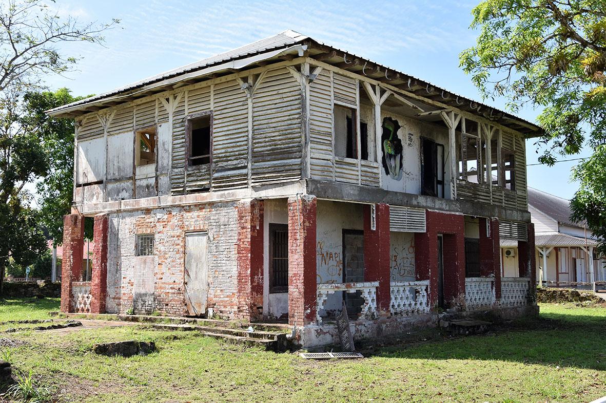 [#ActionCoeurdeVille] : la commune de #SaintLaurentdumaroni lance un appel à projets autour de l'ancienne maison du receveur des douanes