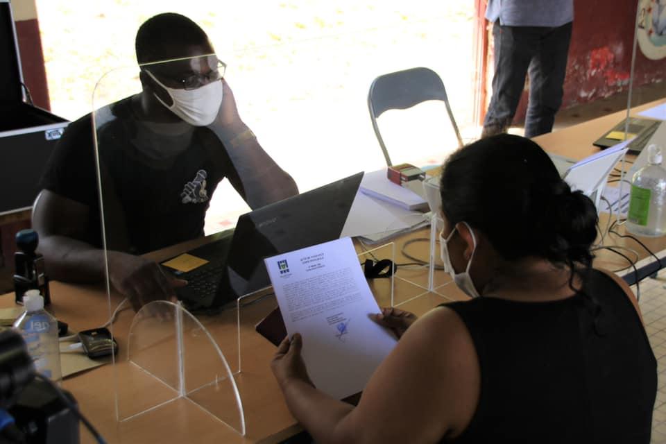 [#EtatCivil] : les permanences État-civil dans les quartiers ont débuté au village Terre-Rouge