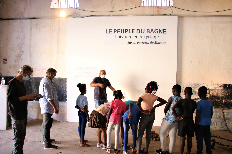 #Patrimoine : la commune fait découvrir son patrimoine aux élèves de #Saintlaurentdumaroni