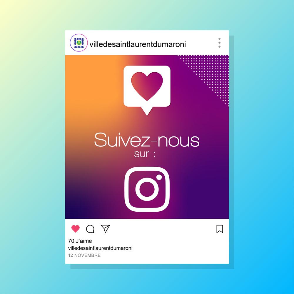 #Réseauxsociaux : suivez l'actualité de votre ville sur Instagram