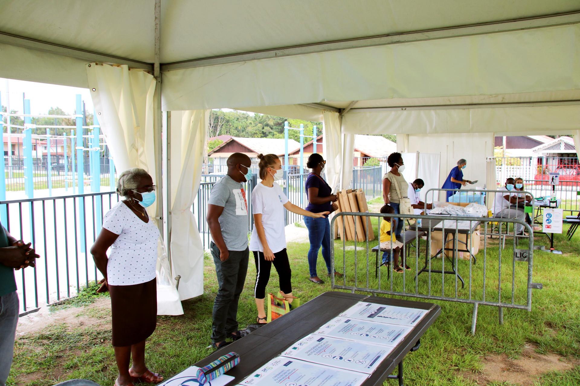 #Villagesanté : Opération dépistage Covid et information vaccin au quartier Cultures